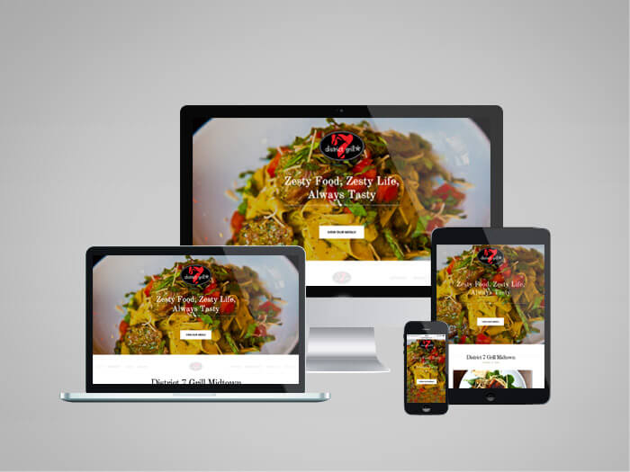 district 7 grill web responsive